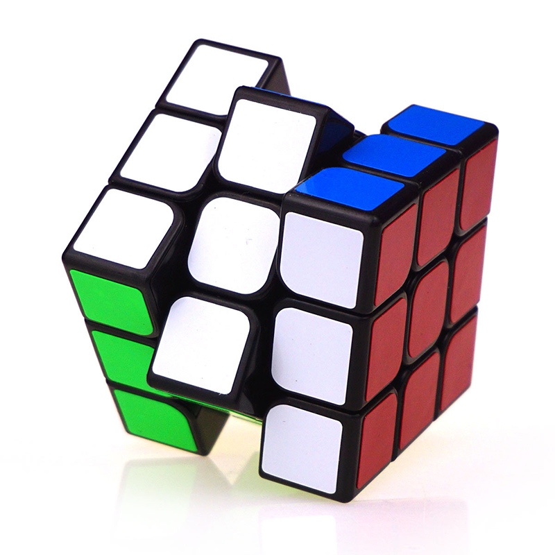 Brand 3x3x3 Magic Cube Colorful Professional Cubes Magico Puzzle Speed Challenge Gifts Educational Toys Gift(China (Mainland))