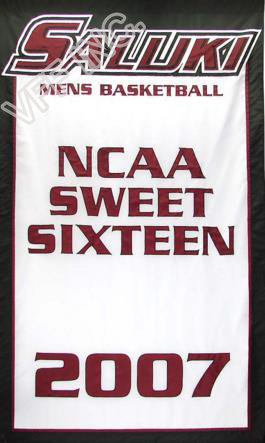 Southern Illinois University Flag Men's Basketball NCAA Flag 3ft x 5ft Polyester Banner Flying 150* 90cm Custom flag SIU4(China (Mainland))