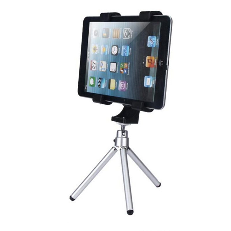 "Universal Tripod Mount Holder Bracket Thread Adapter Tripod For IPad Tablets High Quality Plastic 12.5cm/4.73"" To 20.5cm/7.87""(China (Mainland))"