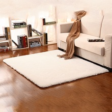 80*150cm Extra Large Modern Plain 5cm Shaggy Rugs Thick Pile Area Rug Mats hot(China (Mainland))