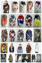 za Winter 2015 Tartan Scarf Desigual Plaid Scarf New Designer Unisex Acrylic Basic Shawls Women's Scarves hot sale za scarf(China (Mainland))