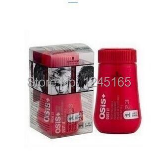 Hot selling/ (10pcs)/lot Unisex Hairspray Osis Dust It Hair Powder Mattifying Powder Finalize The Hair Design Styling Gel(China (Mainland))