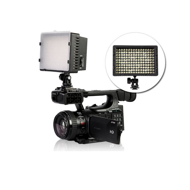 CN-160 LED Video Camera Light DV Camcorder Photo Lighting 5400K For Canon Nikon<br><br>Aliexpress