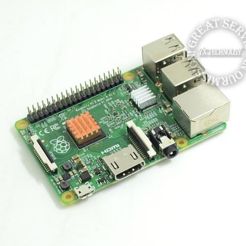 PI Board + Case Box + Heat Sink + USB wift. Original Raspberry Pi 2