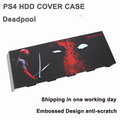 Embossed ps4 Sticker Skin HDD Hard Disc Drive Cover Housing Matting faceplate for Playstation 4 PS4