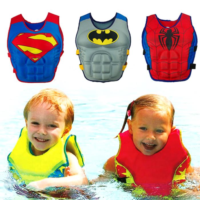 Baby Swim Vest Child Swimming Learning Jacket Ring Infant Life Jacket Kids Cartoon Floatable Swimsuit Boy Girl Cool Rafting Vest(China (Mainland))