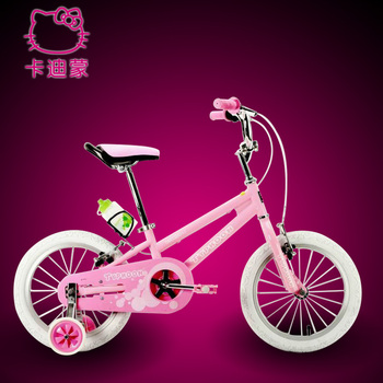 Free Shipping! 2013 new arrival cute hello kitty children's bike high quality pink princess bicycle