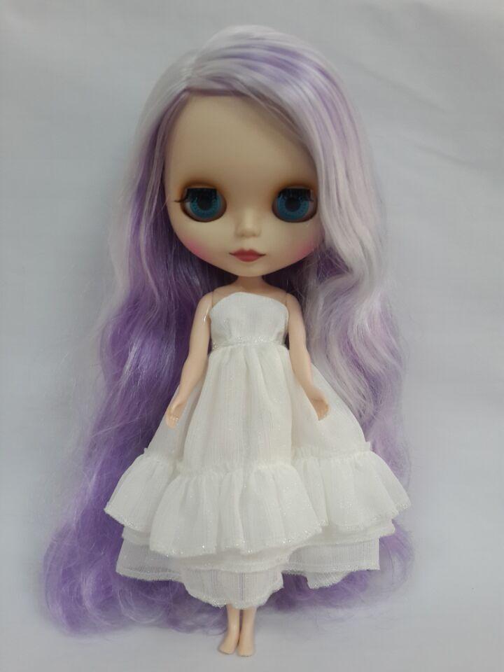 Blyth doll with Matt face,colorful hair(China (Mainland))