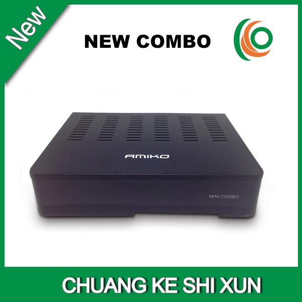 Amiko Mini HD Combo receiver dvb &S2&T2&C popular in UK(China (Mainland))