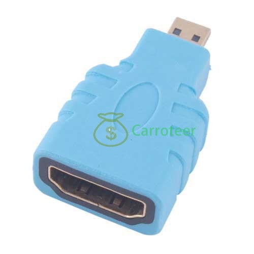 Carroteer Shop HDMI Female to Micro HDMI Male Adapter Converter for HTC EVO Camera #2(China (Mainland))