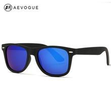 Aevogue Polarized masculina óculos De Sol Metal estilo Unisex dobradiças Polaroid Lens Top qualidade Original Oculos
