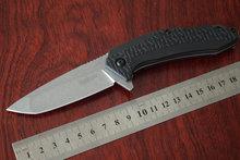 6 unids/lote Kershaw 3840 cuchillo plegable del EDC cuchillos campamento 8Cr13MoV mango de nylon de acero táctico de la supervivencia del cuchillo de caza de la gota