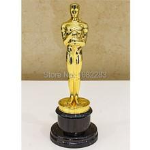 Academy Award Oscar Statue Oscar Trophy Zinc Alloy Replica Oscar Trophy