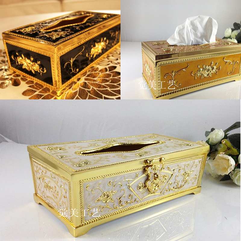 top quality Wholesale high-grade silver-plated metal tissue box holder Continental Hotel Bar KTV tearoom pumping tray Household(China (Mainland))