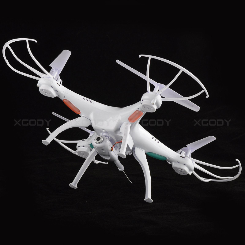 Syma X5SW 6-Axis Gyro 2.4G 4CH Real-time Images Return RC FPV Quadcopter drone WIFI with HD Camera + 3 Batteries