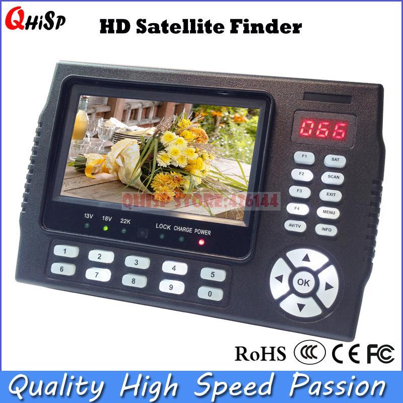 TV Receiver sat meter 4.3 Inch Portable Multifunctional HD Satellite Finder Monitor dvb s2 mpge 4(China (Mainland))