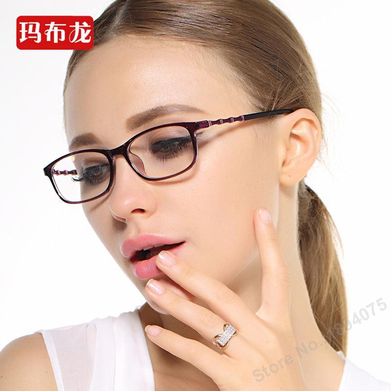 Free prescrption filling shortsighted fashion brand designer eyeglasses frame women myopia spectacles closesighted eyewear 5970(China (Mainland))