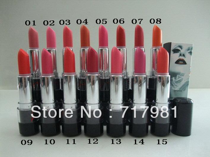 Wholesale -2014 new brand makeup lady gaga lipstick 3.8g (15pcs/lot) Free Shipping(China (Mainland))