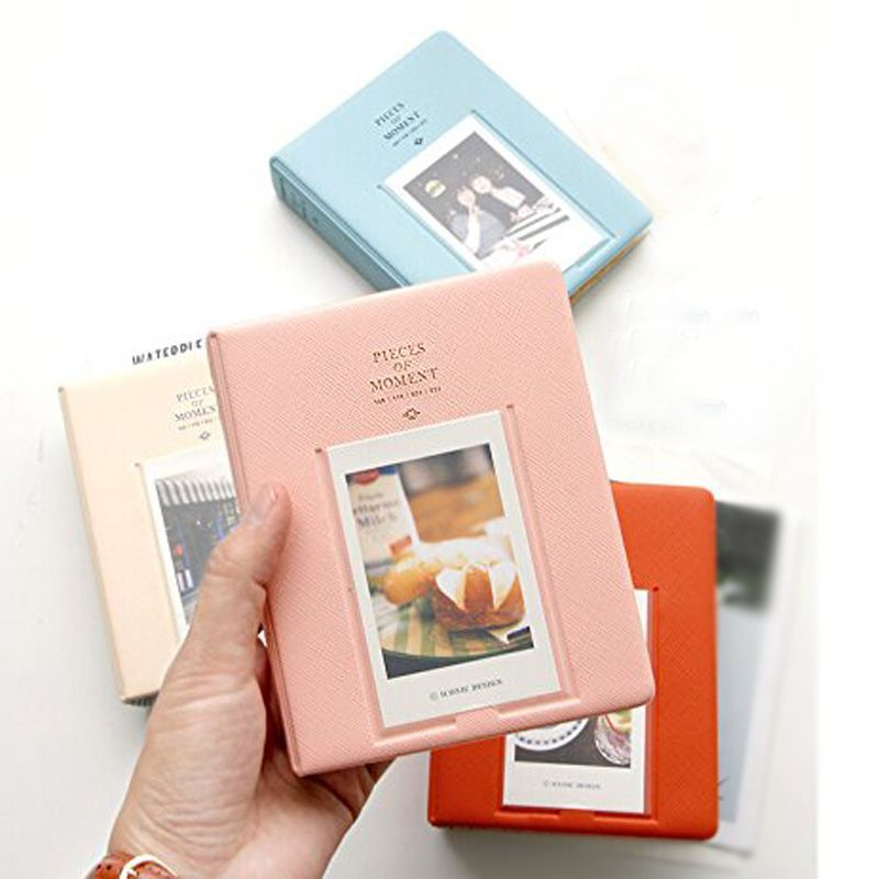 64 Pockets Mini Instant Polaroid Photo Album Picture Case Fujifilm Instax Film 7s 8 25 50s 90 - Yarui Beauty world store