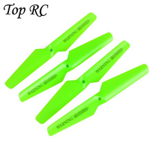 4PCS Fluorescent Green Propellers Blades Replacement Part for Syma X5C X5SC X5SW Helicopter Drone Spare Parts Free Shipping