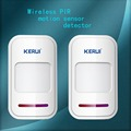 2pcs lot 433mhz Sensor Wireless Intelligent PIR Motion Detector For GSM PSTN Home Security Burglar Alarm
