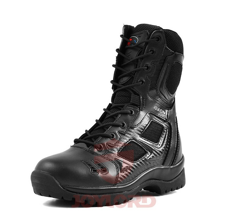 Фотография Germans ASIAON Military Tactical Boots Desert Combat Outdoor Army Hiking Travel Botas Shoes Leather Autumn Ankle Men Boots