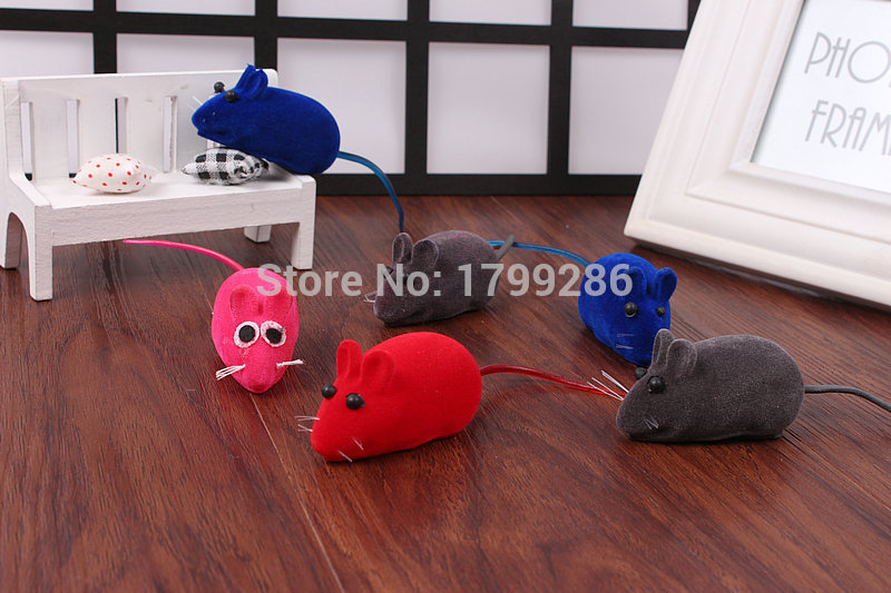 3pcs/set Funny squeak dog toy Wind up Pet Toys Mouse Mice Toys for Cats and Dogs Cute Pet Products fat cat toys(China (Mainland))
