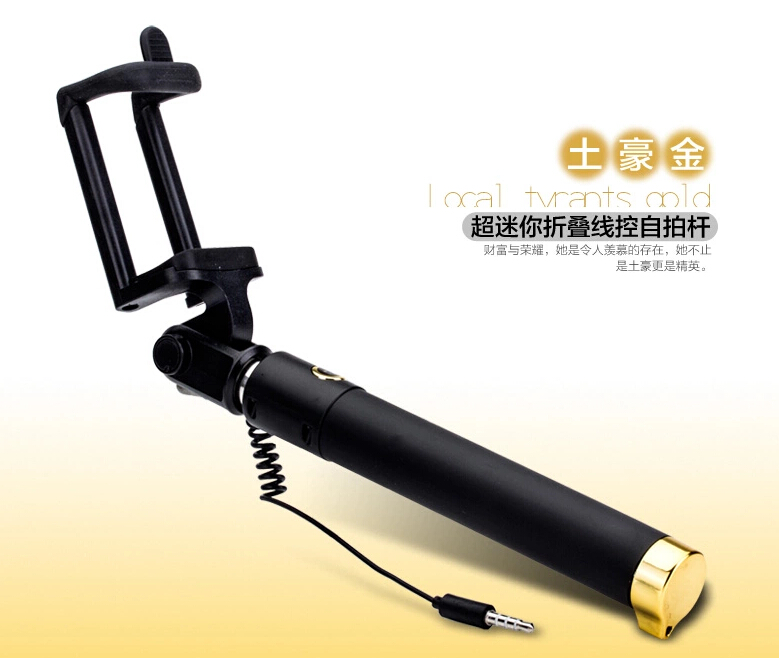 image for Universal Luxury Mini Selfie Stick Tripod Monopod For Iphone Samsung A