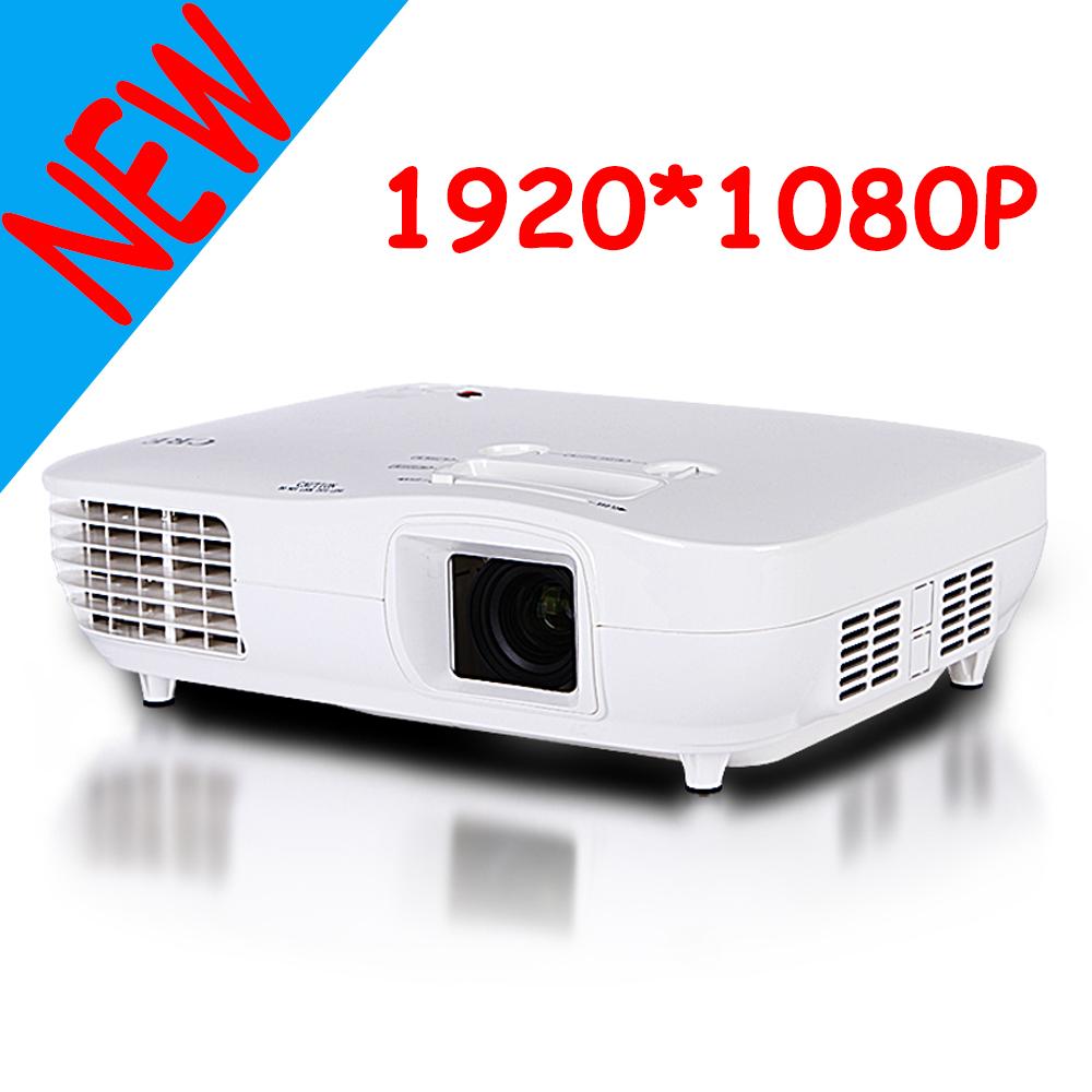 2000 Lumens Full Hd 1080p Led Lcd 3d Vga Hdmi Tv Home: Aliexpress.com : Buy Full HD 1080P Projector 10000:1 High