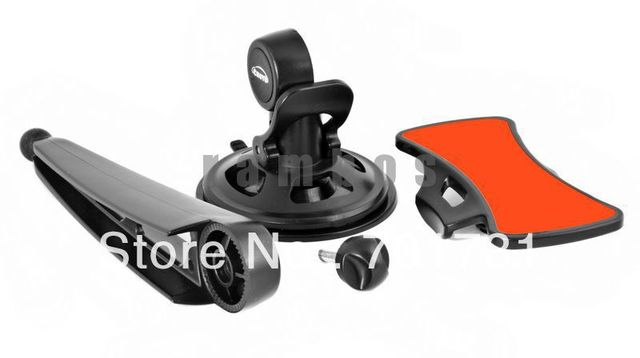 400pcs/lot 360 Rotation Smart Phone Dashboard Car Mount Holder for iPhone 5 5G with Firmly Sticky Pad
