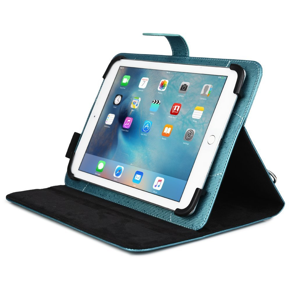 2016 Summer Business Tablet Travel Portfolio Case for Apple iPad 2 / 3 / 4, Air / 2 with Hand & Shoulder Straps Car mount style(China (Mainland))