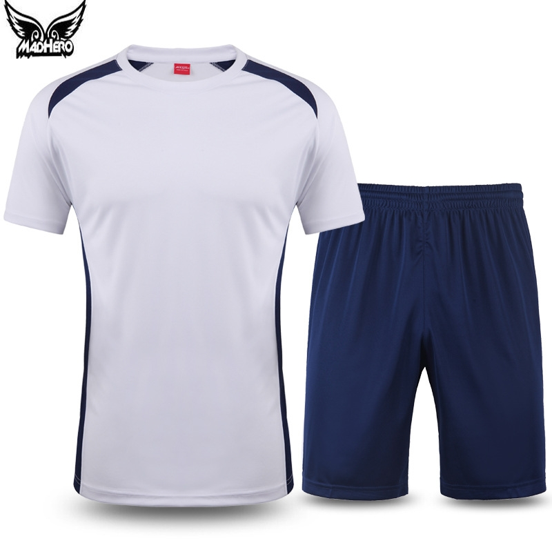 2016 Men's Soccer Sets College Football Jerseys 100% Polyester Short Sleeve Soccer Jersey Cheap One Piece Personalized Custom(China (Mainland))
