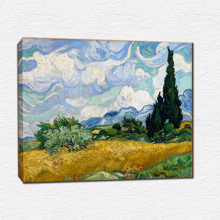 Vincent Van Gogh famous painting reproduction -- canvas print painting for home decorations paintings(China (Mainland))