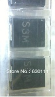 Free Shipping 500pcs/lot SMD 1N5408 S3M 1000V 3A SMB SMD rectifier diode Good quality and ROHS(China (Mainland))