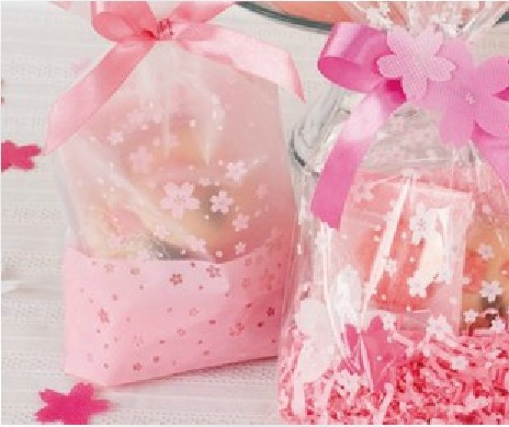 food packaging bags sweet peach pink bag sky cherry petals romantic gift children 10 - Yiwu Zilue Trading Co.,Ltd Store store