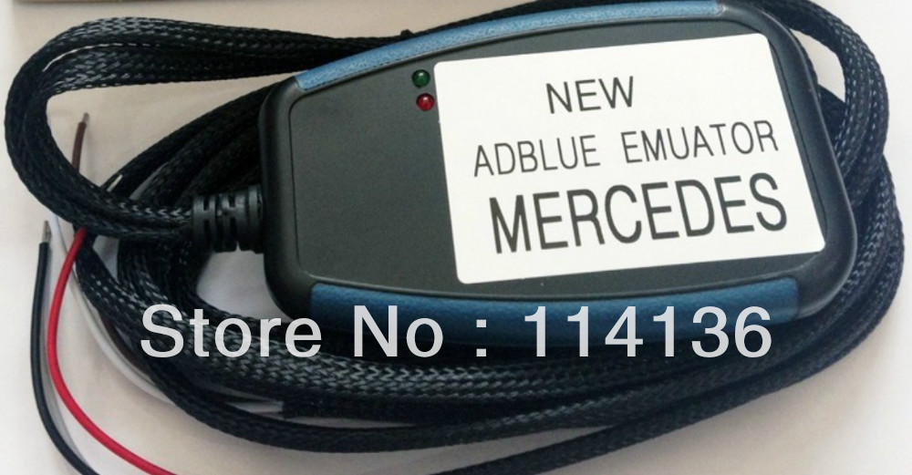 The good product for BENZ AdBlue Emulator (only with Bsch AdBlue system) used in trucks and other heavy vehicles(China (Mainland))