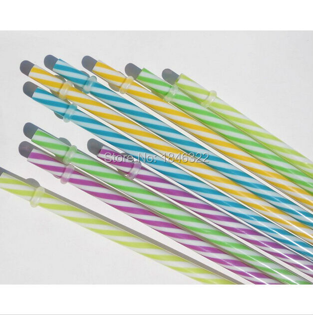 fashionable style useful hard plastic drinking straws for wedding and party thanksgiving(China (Mainland))