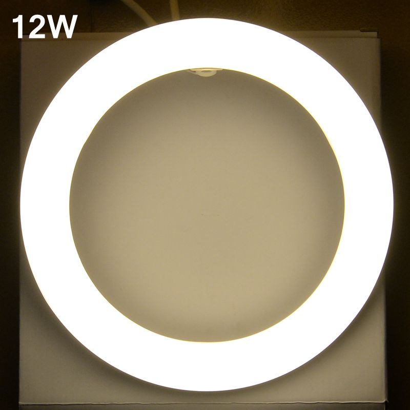 12W led Tube AC85-265V G10q SMD2835 T9 LED Circular Tube LED circle Ring lamp bulb light(China (Mainland))