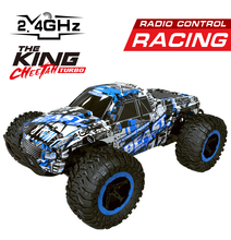 Buy RC Cars 1:16 Climbing Buggy 4WD Monster Truck Bigfoot Remote Control Off-Road Vehicles RC Vehicle Top Level Toys Car for $36.98 in AliExpress store