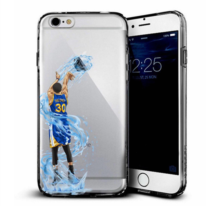 Fire Basketball PC phone cases Harden Curry phone cover coque for iphone 6 6S 4.7 INCH(China (Mainland))