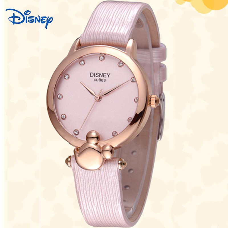 Disney 2016 Mickey cartoon Ladies Wrist Watch Women Brand Famous Female Clock Quartz Watch Girl Quartz-watch Relogio Feminino