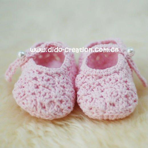 1pairDD07007E Handmade Crochet Baby kids new Shoes ...