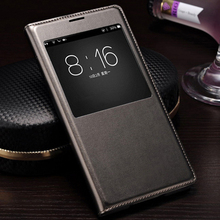 Buy Flip Cover Samsung Galaxy S5 Case Smart View Auto Sleep Wake Leather Shell IC Chip Samsung Galaxy S5 I9600 G900 for $2.87 in AliExpress store