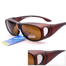 New Products Driving Sun Glasses Polarized Over The Glasses For Covering Nearsighted Eyeglasses