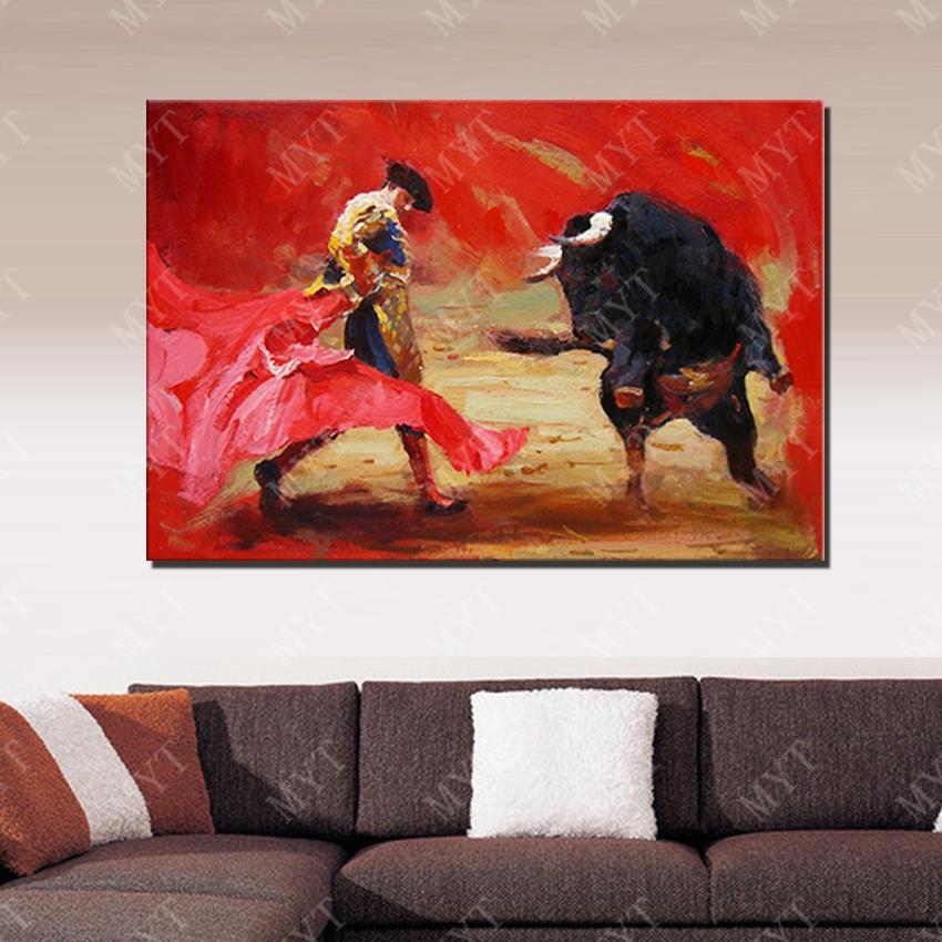 Pinturas De Las Corridas De Toros Al Por Mayor De Alta