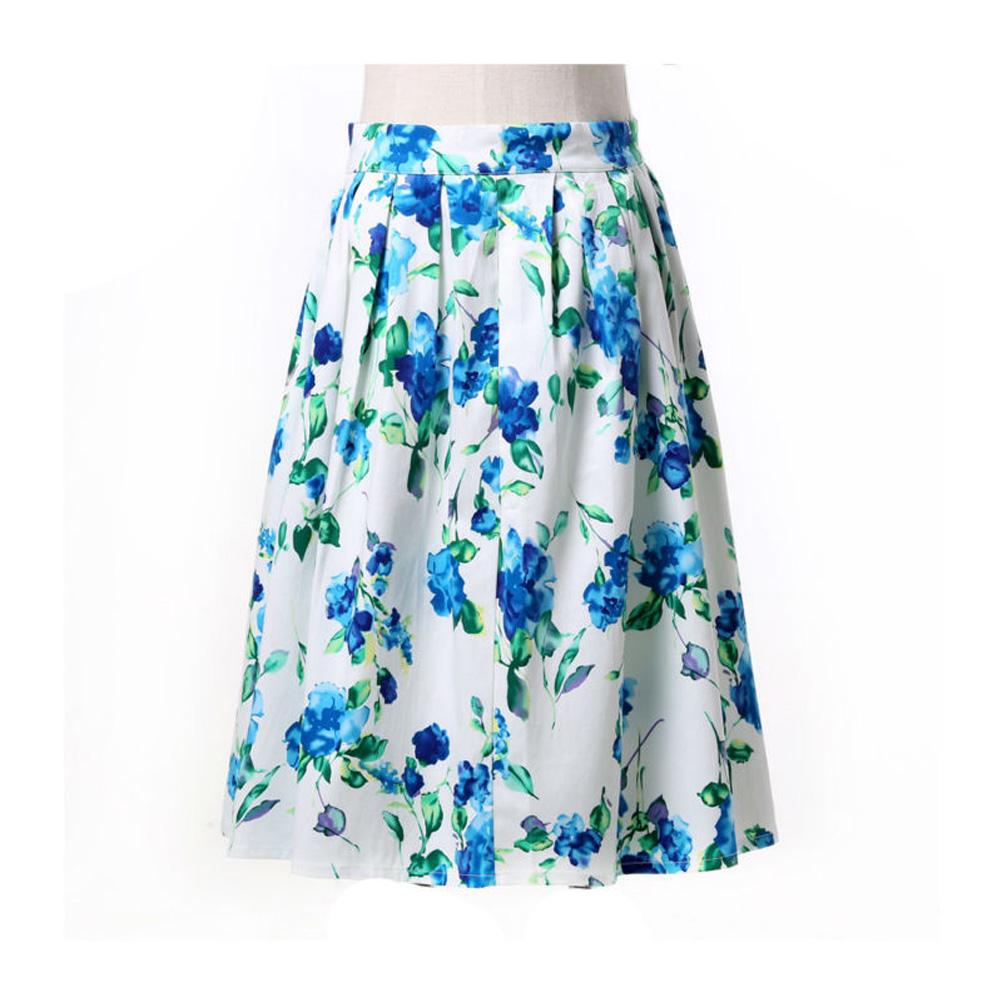 grace karin casual cotton midi skirts womens 2016