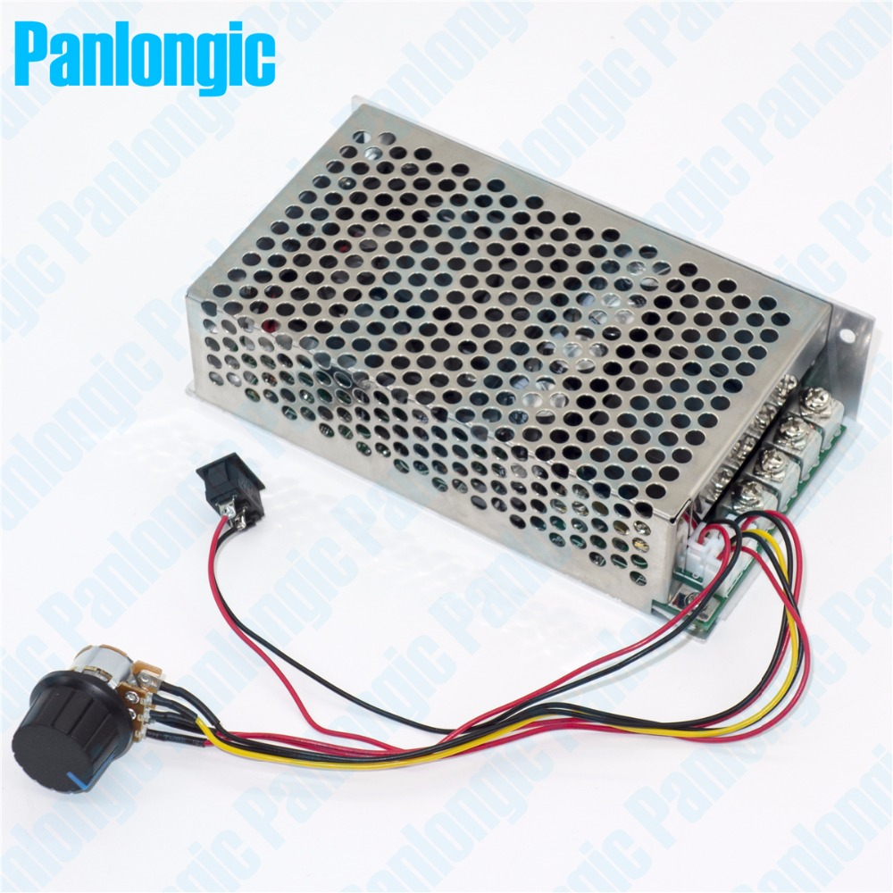10-50V 100A 5000W Programable Reversible DC Motor Speed Controller PWM Control 12V 24V 36V 48V Soft Start Forward Reverse Switch(China (Mainland))