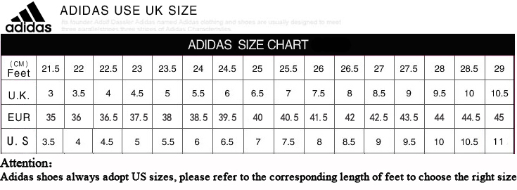 adidas size chart basket: Adidas size chart shoes sure financial services ltd