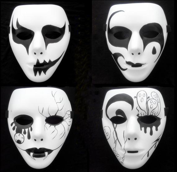 JabbaWockeeZ Mask Face Mask Halloween Party Mask HALLOWEEN Hip-Hop GHOST DANCE(China (Mainland))
