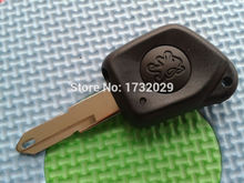 Buy Pusakieyy 1pcs New Case Peugeot 106 205 206 306 405 406 1 button Remote Key Fob case shell keyless uncut key blade for $1.35 in AliExpress store